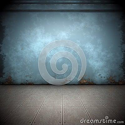 Free Steel Floor Stock Photography - 16768282