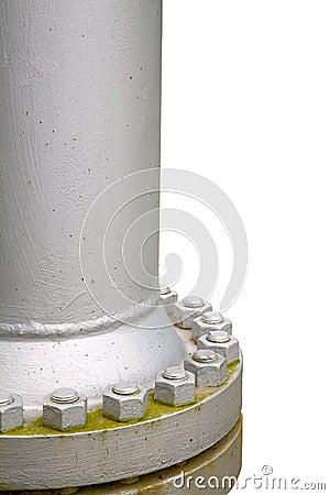 Steel gas pipe