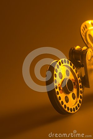 Free Steel Gear Mechanism Isolated Background Royalty Free Stock Images - 103946819