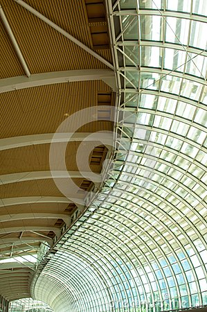Steel and Glass Ceiling