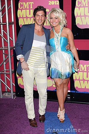 Steel Magnolia at the 2012 CMT Music Awards, Bridgestone Arena, Nashville, TN 06-06-12 Editorial Image