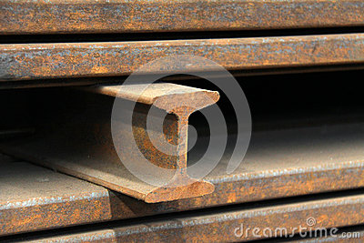 Steel materials products in cross section
