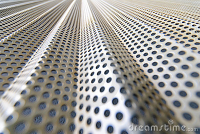 Steel mesh screen horizontal