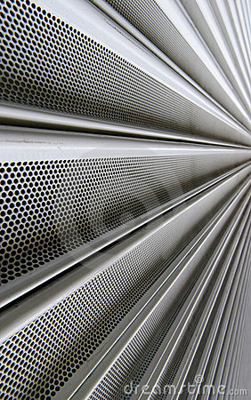 Steel mesh screen vertical