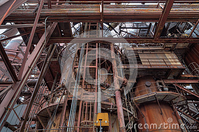 Steel mill detail
