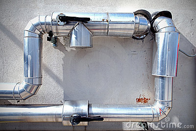 Steel pipe system