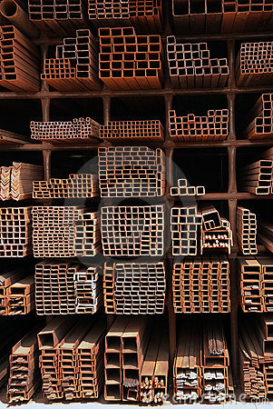 Steel Pipes Royalty Free Stock Photo - Image: 16786865