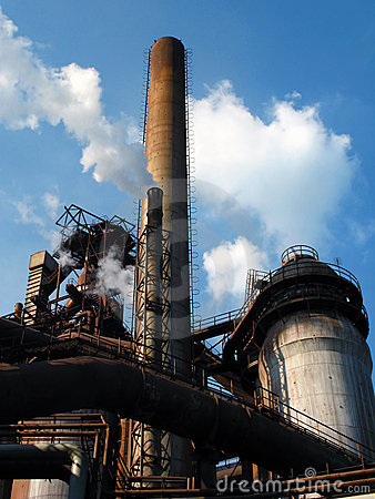 Free Steel Plant Royalty Free Stock Images - 7111489