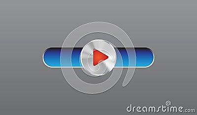 Steel player button
