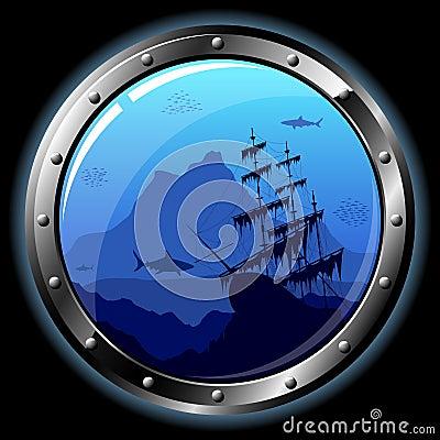 Free Steel Porthole Royalty Free Stock Photo - 11684605
