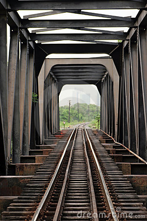 Free Steel Railway Bridge Stock Photography - 11315342