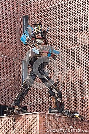 Steel robot