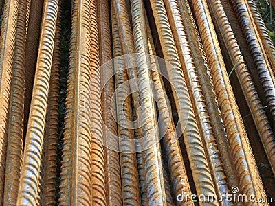Steel rods 2