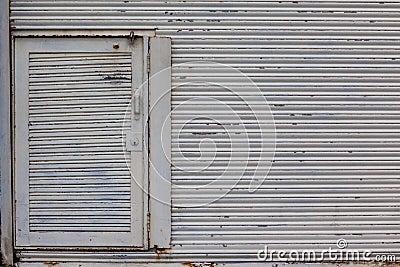 Steel Rolling Door Storage