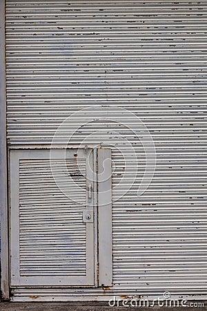 Steel Rolling Door Garage