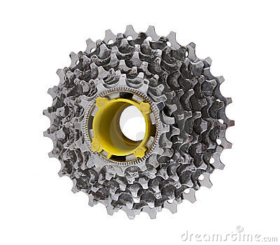 Steel sprocket for bicycle