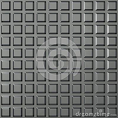 Steel square pattern