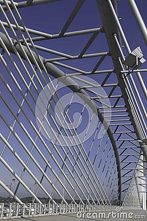 Free Steel Structure Bridge Royalty Free Stock Photo - 13805685