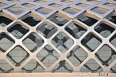 Steel structure construction external part