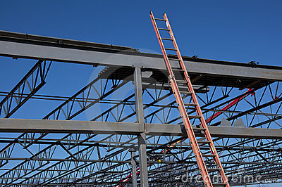 Steel Structure and Ladder