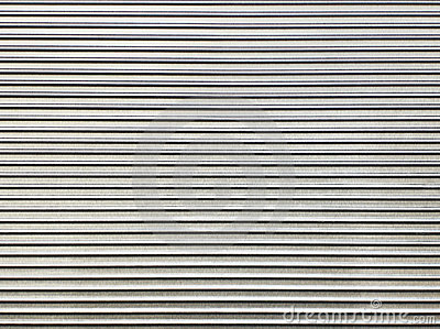 Steel Texture Corrugated Sheet Pattern Royalty Free Stock