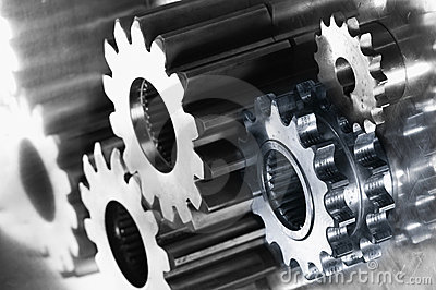 Steel and titanium gears