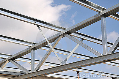 Steel Truss Stock Photos Image 5644473
