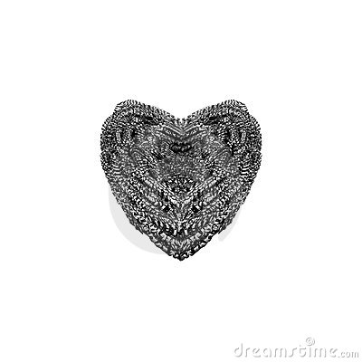 Steel Wool Heart