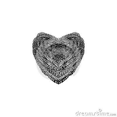 Steel Wool Heart