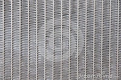 Steel zigzag texture