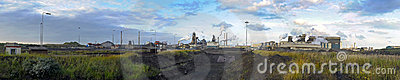 Steelworks panorama