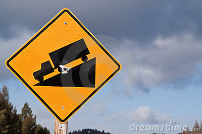 Steep Grade Sign