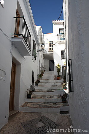 Steep Steps ( Frigiliana, Spain )