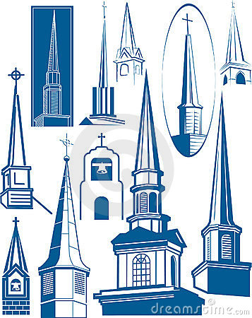 Free Steeple Collection Stock Photos - 20395773