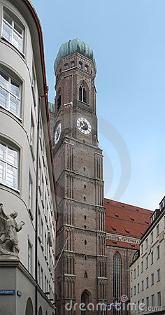 Steeple of the Frauenkirche in Munich