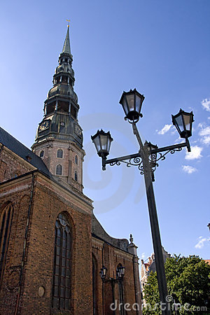 Steeple of St. Peter