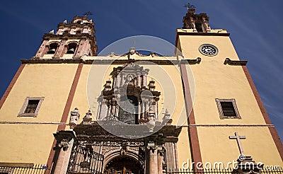Steeples Door Bells Basilica Guanajuato Mexico