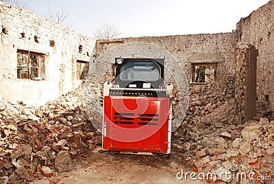 Steer för sladdning för bobcatladdarbaksida
