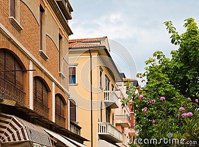Steet in Lido, Venice