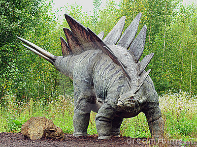 Stegosaurus Editorial Image