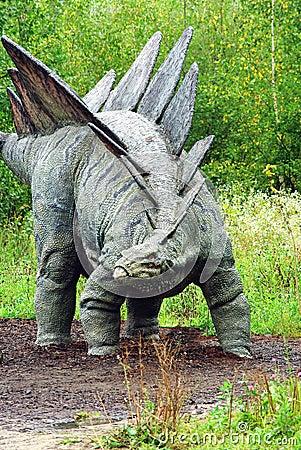 Stegosaurus Imagen de archivo editorial