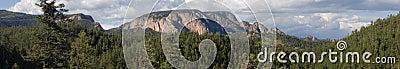 Steigendes Panorama 2 des Rampart