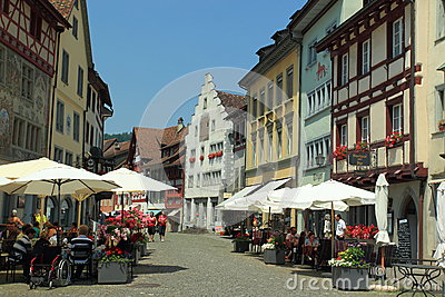 Stein am Rhein Editorial Stock Photo