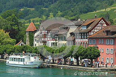 Stein am Rhein Editorial Stock Image