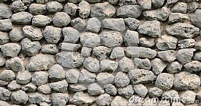 Steinwandstruktur dicht stock video footage