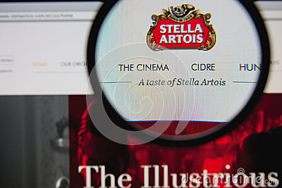 Stella Artois Editorial Image