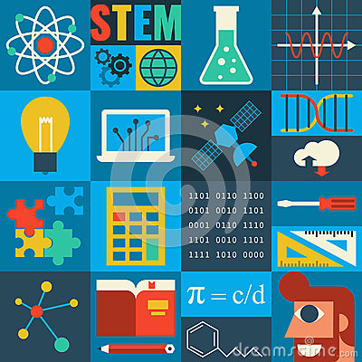 Free STEM Education Royalty Free Stock Photography - 61064357