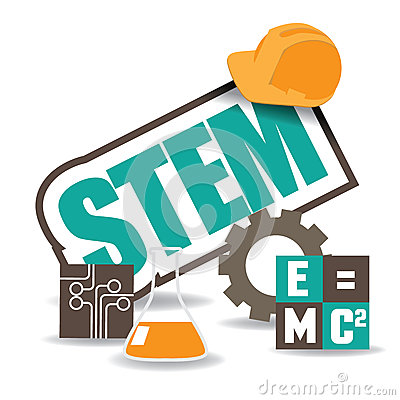 Free STEM Icon Flat Design EPS 10 Vector Stock Photo - 52284000