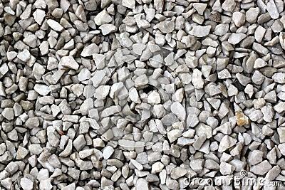 Trädgård Grus : Sten av grus på gångbanan i trädgård arkivfoto bild