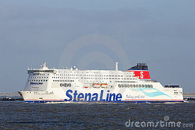 Stena Line ferry ship Editorial Photography